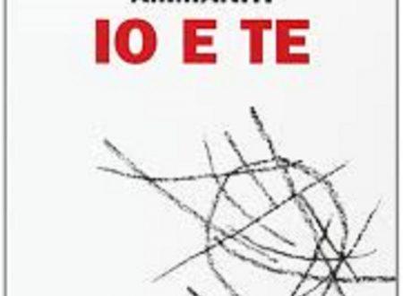 """Audio recensione di """"Io e te"""" di Niccolò Ammaniti"""